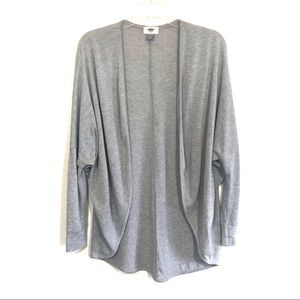 ☀️Old Navy open front draped lightweight cardigan